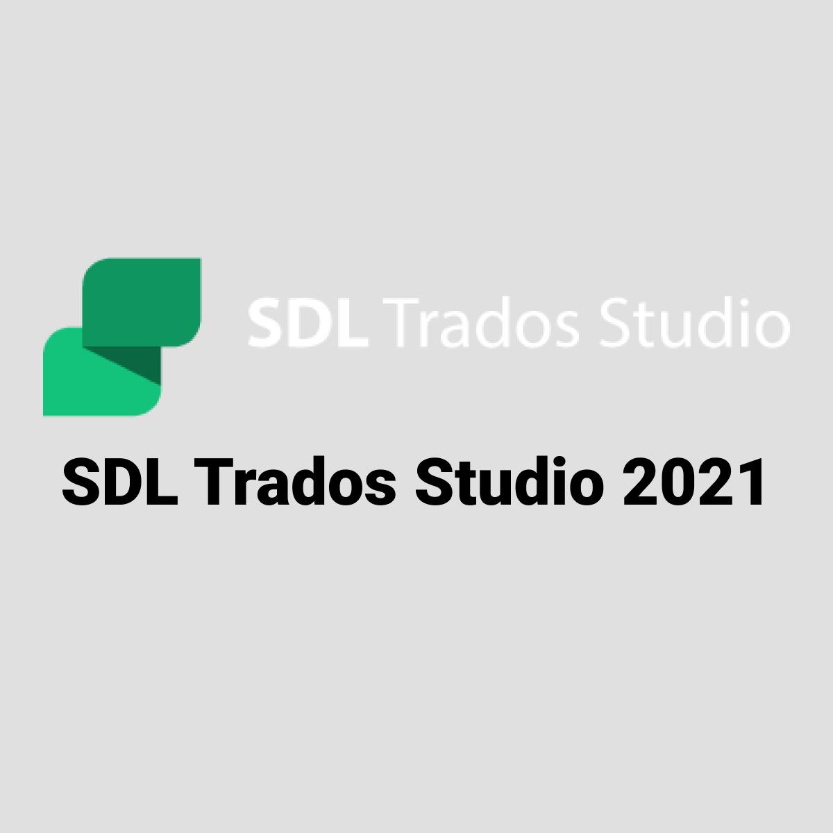 SDL Trados Studio 2021 Freelance